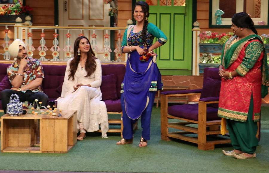 Cast of Super Singh on The Kapil Sharma Show