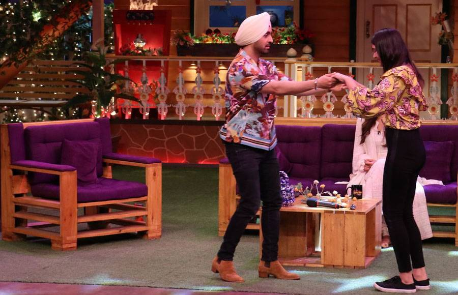 Cast of Super Singh on The Kapil Sharma Show