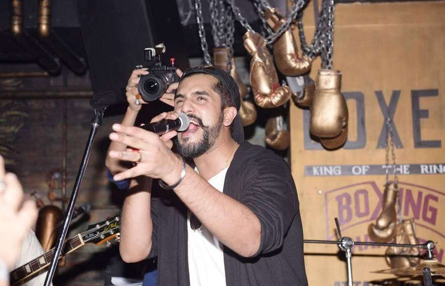 Suyyash Rai while performing