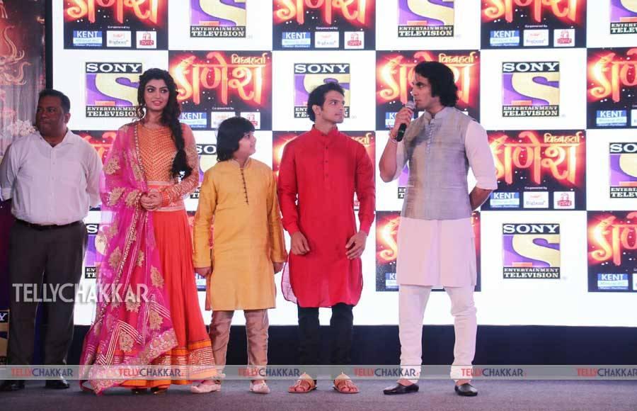 The cast of Vighnaharta Ganesh