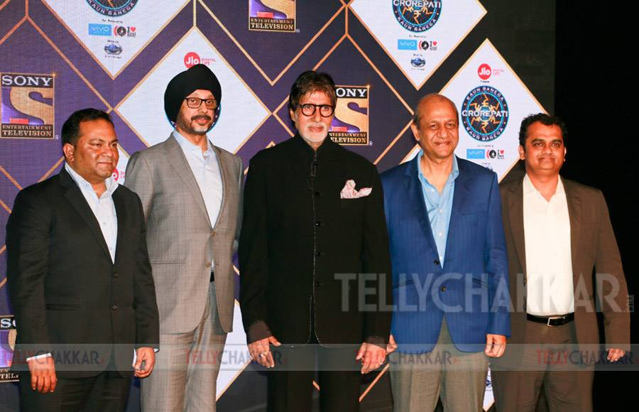 Mr Danish Khan, Mr NP Singh, Mr Amitabh Bachchan, Mr Siddhartha Basu and Mr Ashish Golwalkar