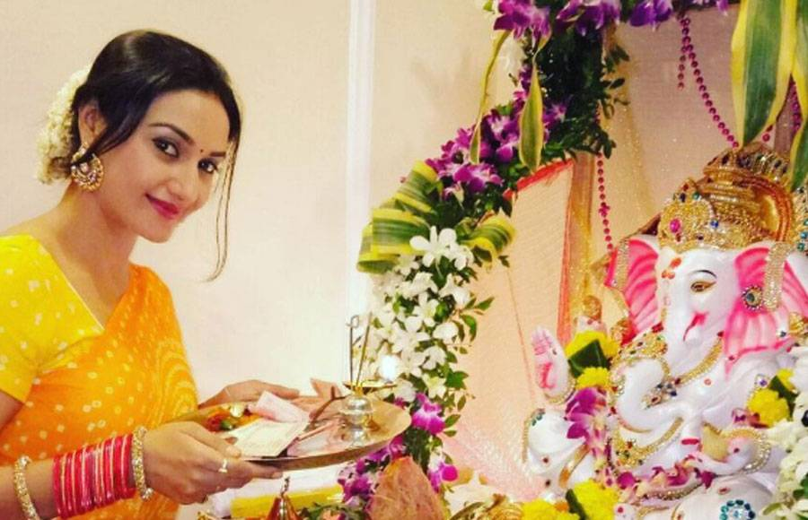 TV celebs with Ganpati