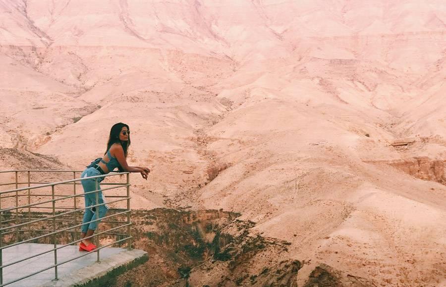 Jordan's rocky terrain