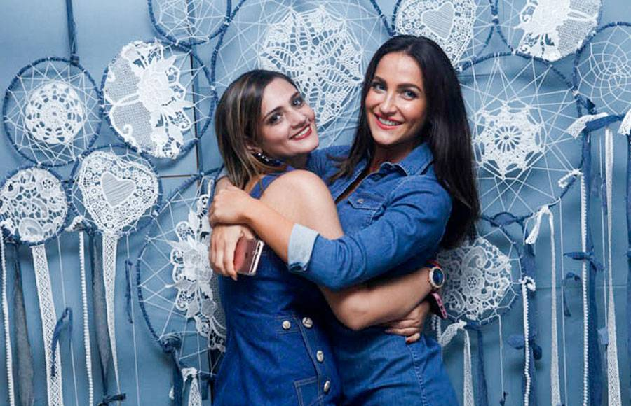 Aamna Sharif and Shweta Rohira