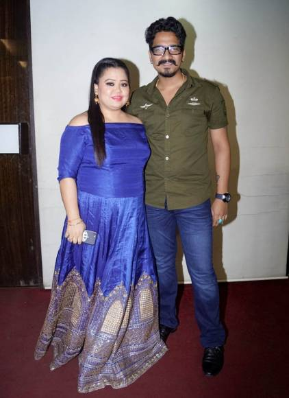 Bharti Singh and Alsaba Saudagar