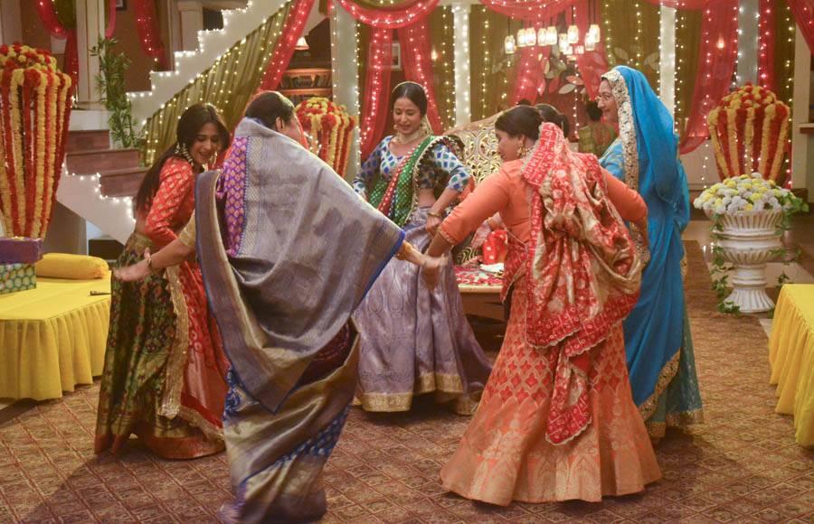 Mehendi celebrations