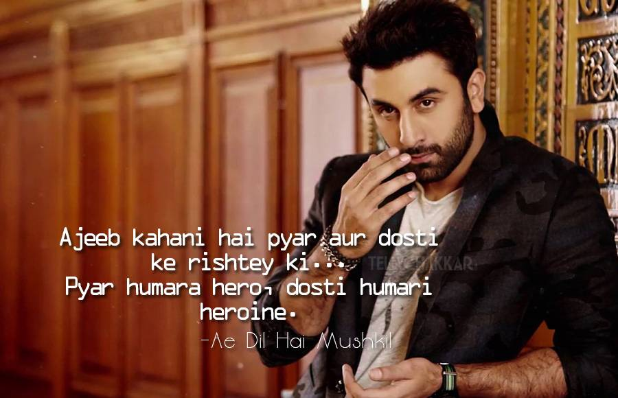 10 Ranbir Kapoor Dialogues That Can Be Etched In History