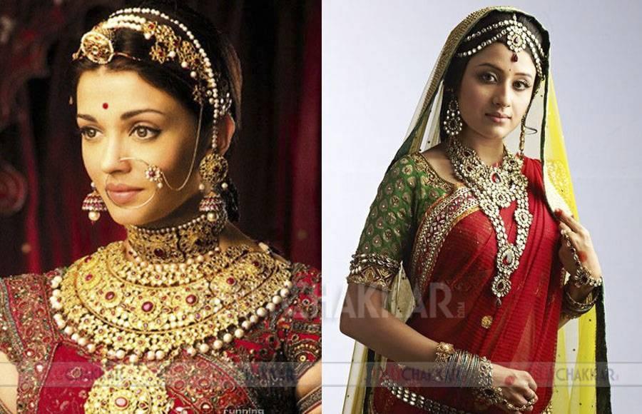 Deepika Padukone and Tejaswini Lonari as Padmavati