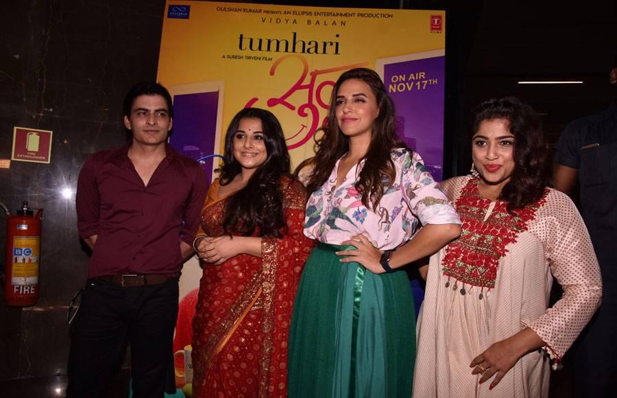 Tumhari Sulu trailer launch