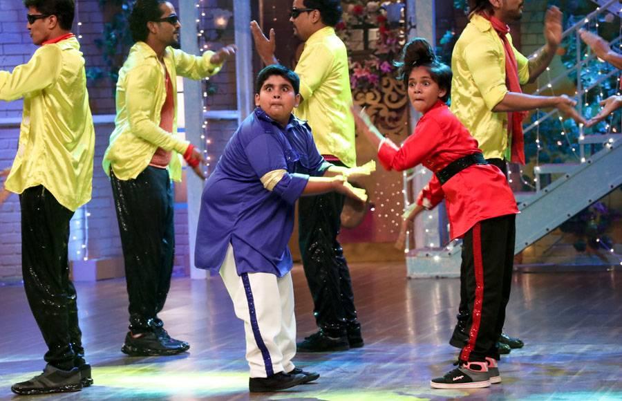 Govinda and Krushna Abhishek
