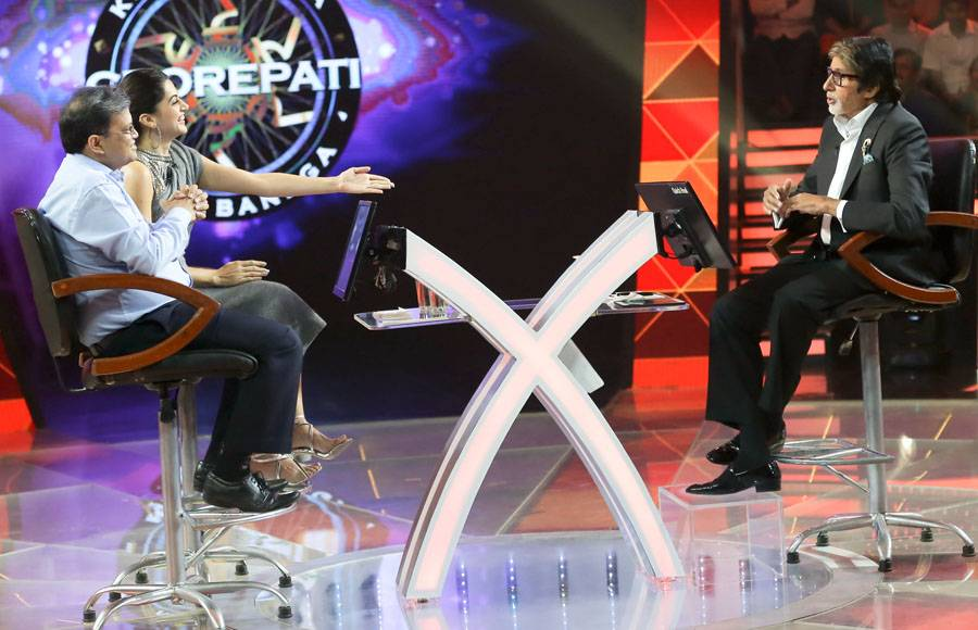 Taapsee Pannu graces Sony TV's KBC