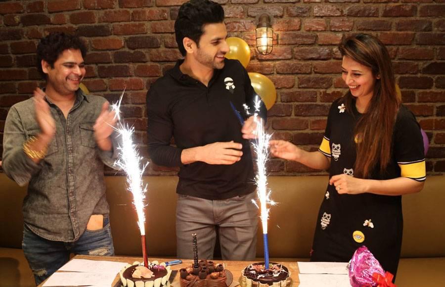 Vivek Dahiya celebrates his birthday with close friends!