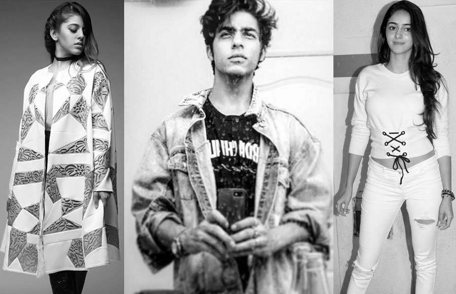 Aalia Furniturewala, Aryan Khan & Ananya Pandey