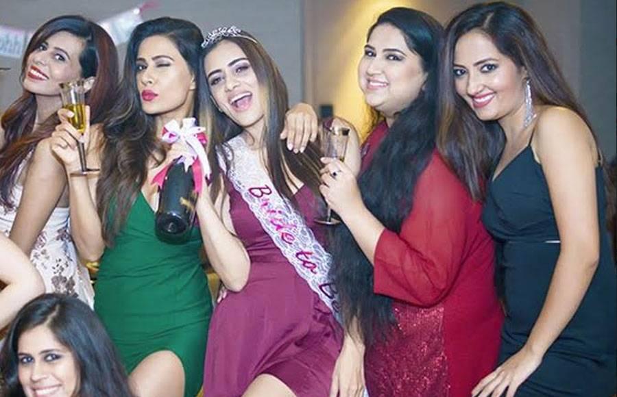 Smriti Khanna's bachelorette party
