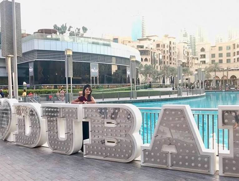 Rohan and Kanchi celebrate love and life in Dubai
