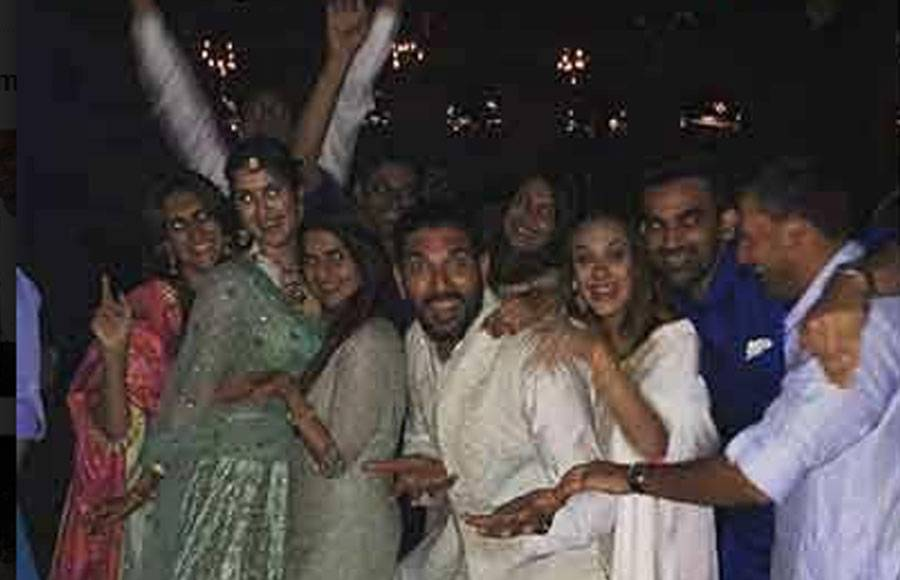 Celebs on Zaheer Khan and Sagarika Ghatge's reception