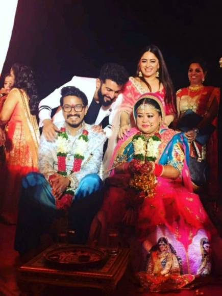 Laughter Queen Bharti ties the knot with Harsh