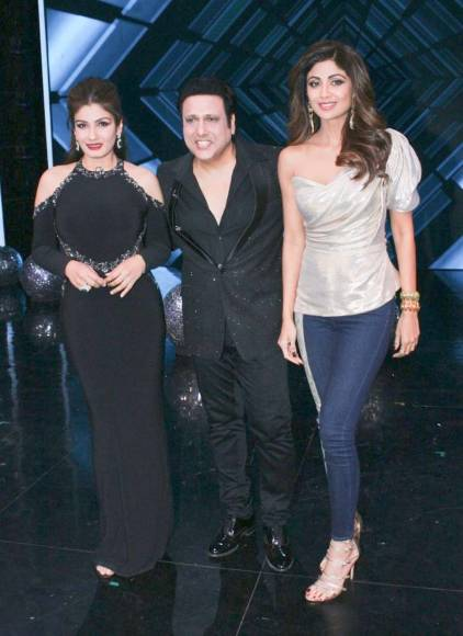 Govinda and Raveena grace Super Dancer