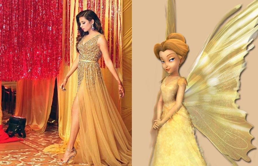 TV actresses who resemble Disney princesses