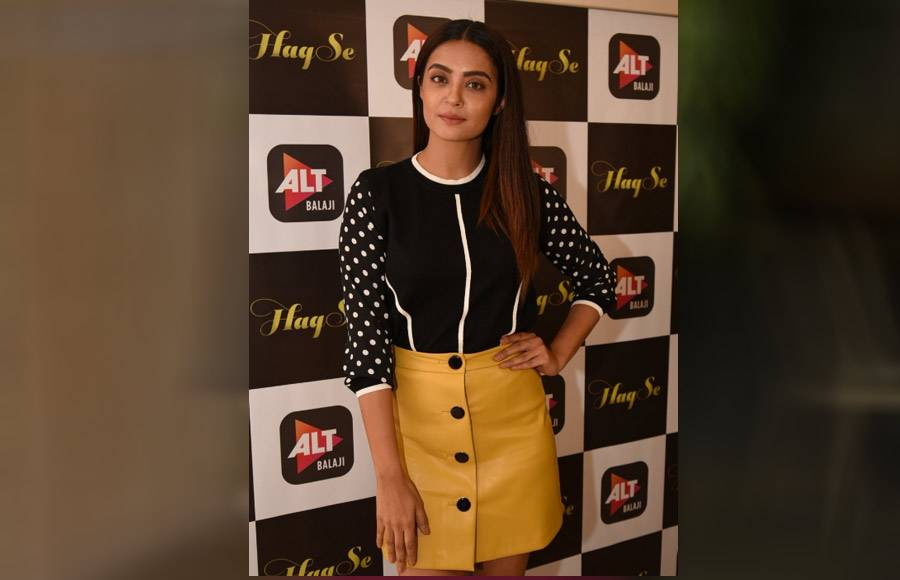 Haq Se's trailer launch