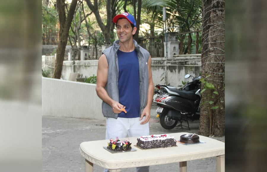 B-Town's Greek God turns a year older