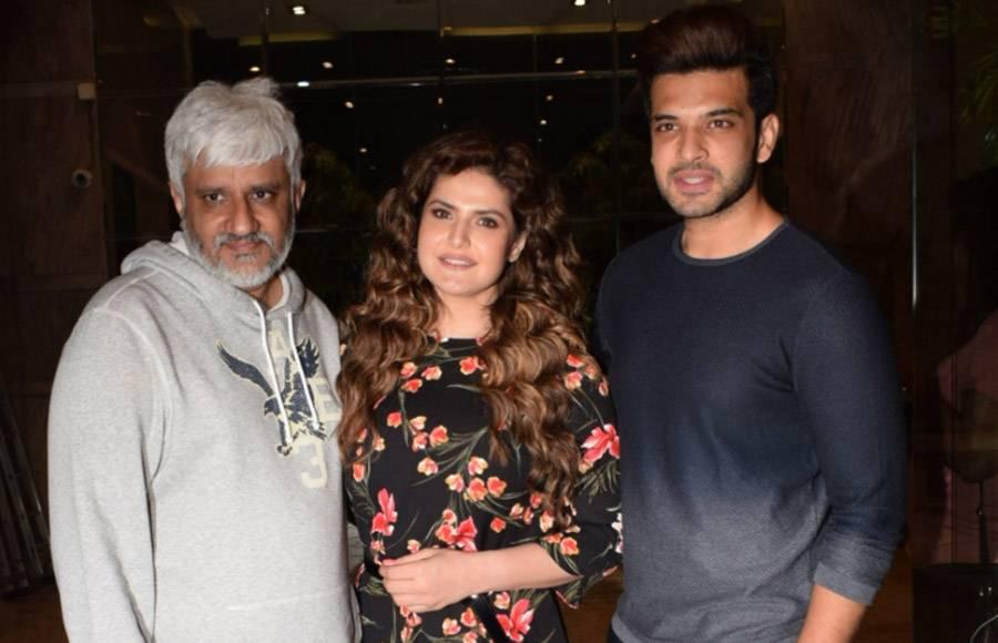 Vikram Bhatt, Zareen Khan & Karan Kundra