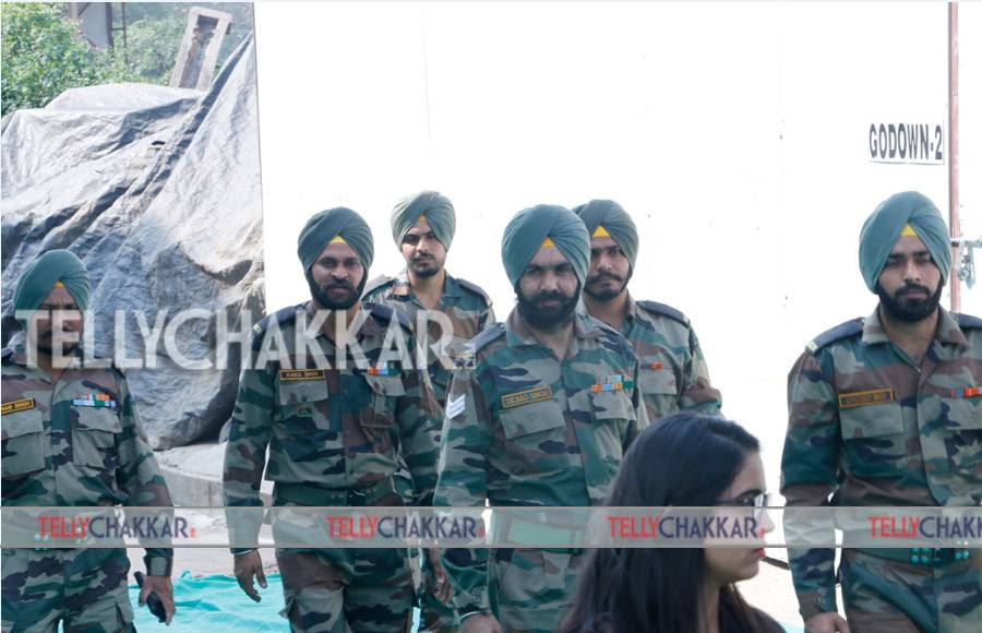 Mohit Raina and Mukul Dev celebrate Army Day in a special way.