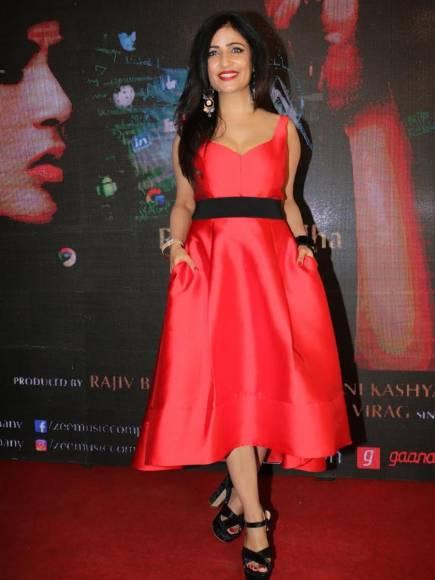 Richa Chadha-Shibani Kashyap at the launch of their music video