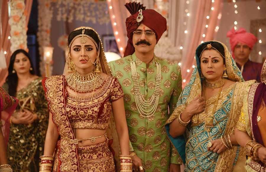 Tejasswi Prakash looks ravishing as a bride