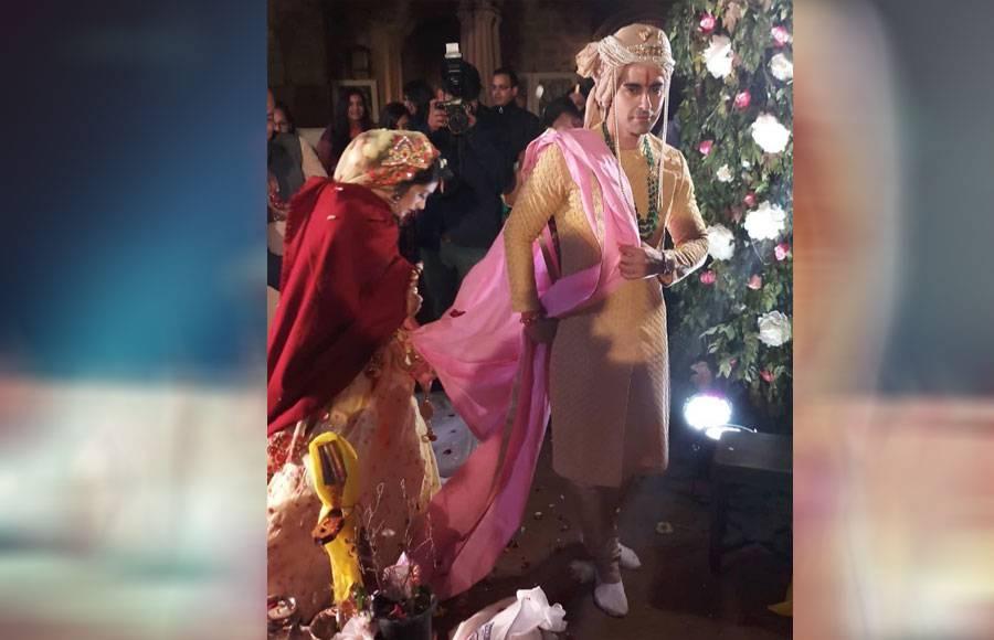 In pics: Gautam Rode-Pankhuri Awasthy's grand wedding