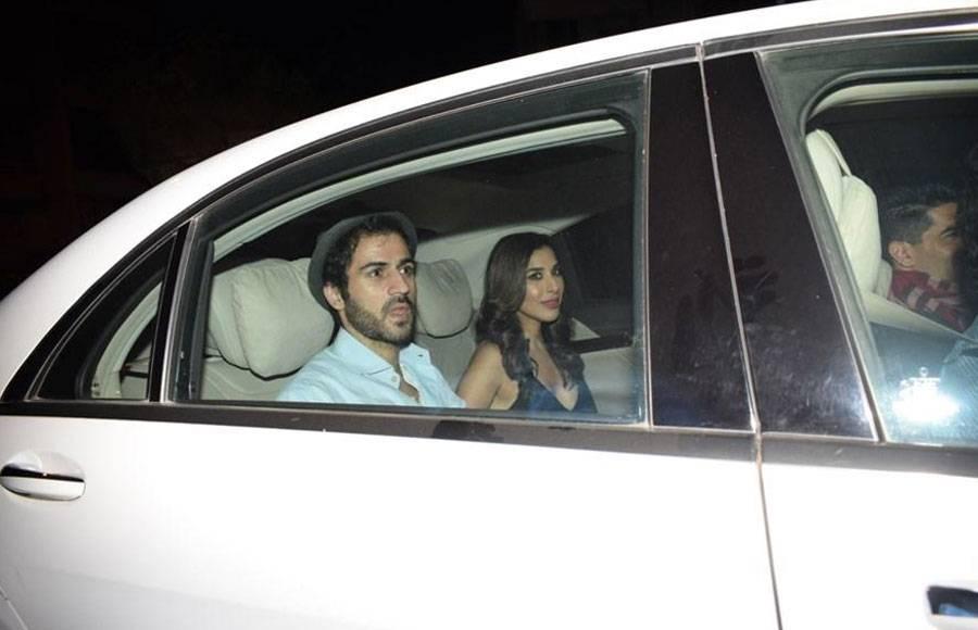 Celebs attend Karan Johar's Valentine's Day party