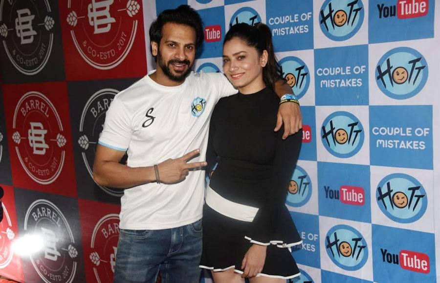 Celebs attend Karan Veer-Barkha starrer 'Couple of Mistakes' launch