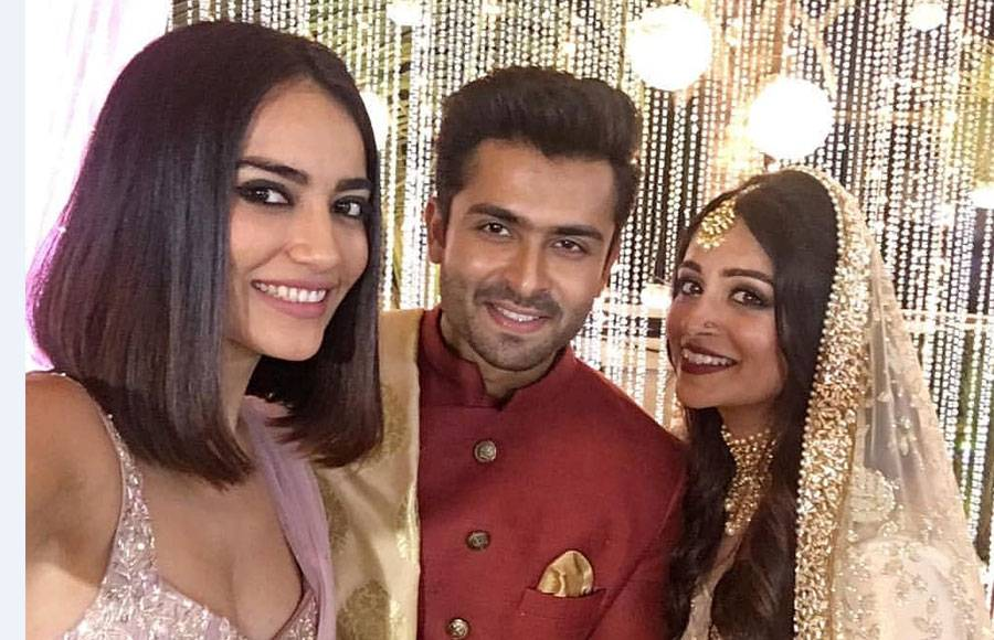 In pics: Shoaib Ibrahim-Dipika Kakar's starry Reception