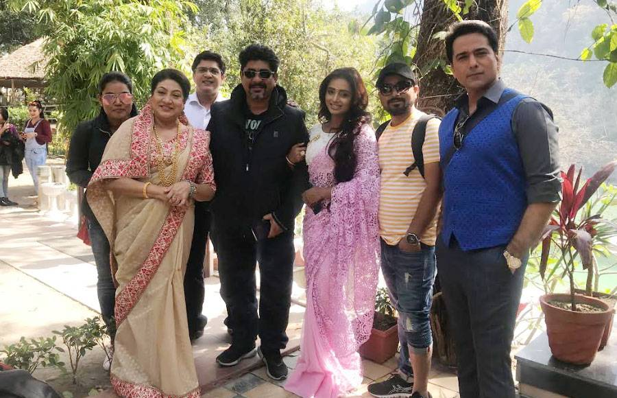 In pics: Yeh Rishta team shoots in Rishikesh