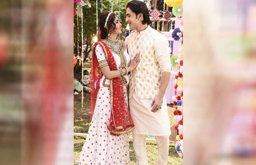 A colourful Holi sequence from Rishta Likhenge Hum Naya
