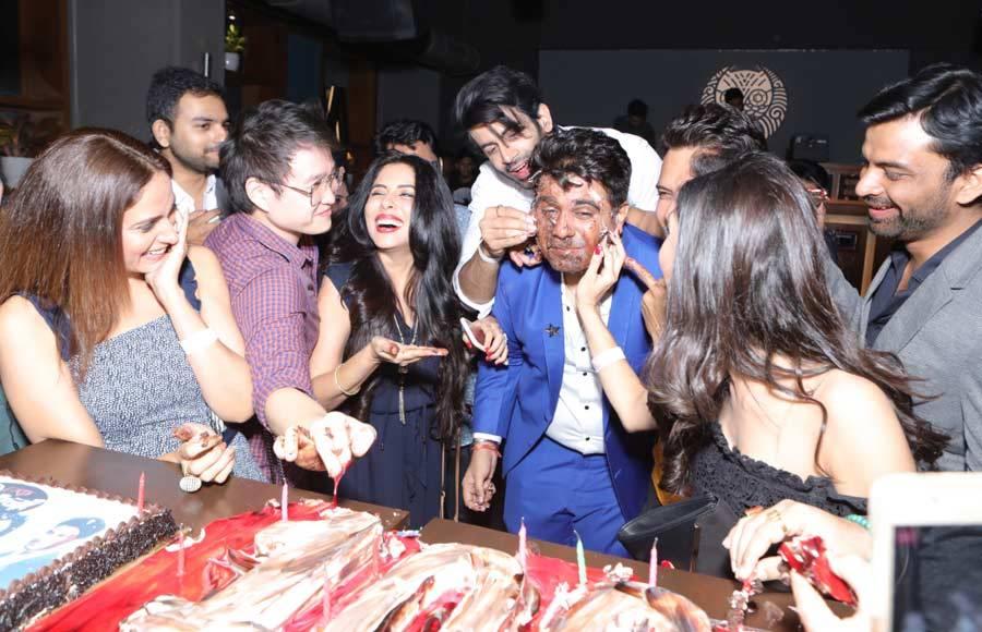 Ek Deewana Tha's 100 episodes completion party
