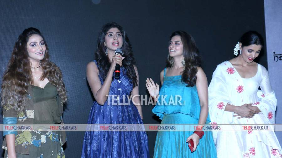 TV celebs at designer Neerushaa's brand launch