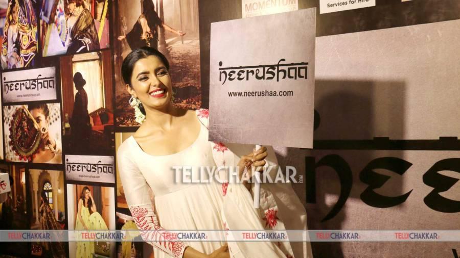 TV celebs at designer Neerushaa's brand launch