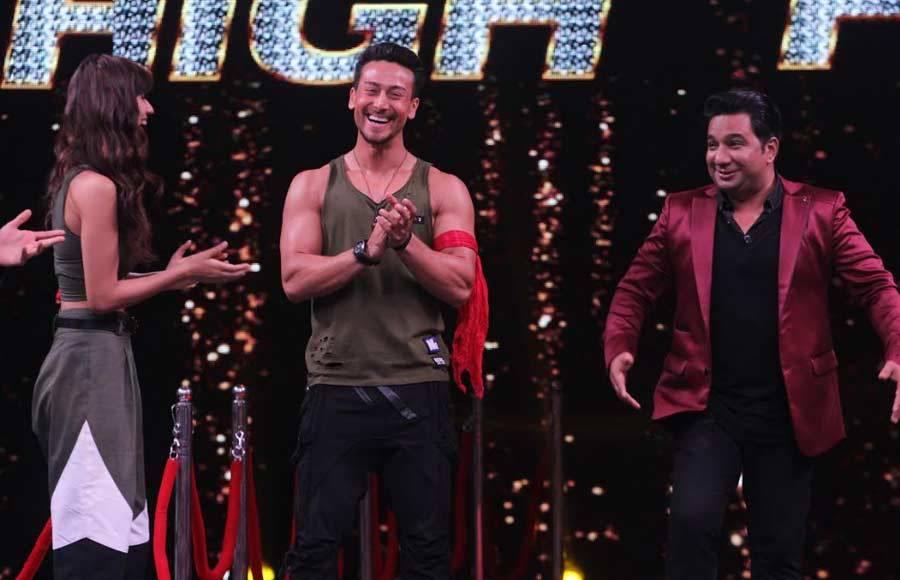 Tiger & Disha grace &TV's High Fever...Dance Ka Naya Tevar