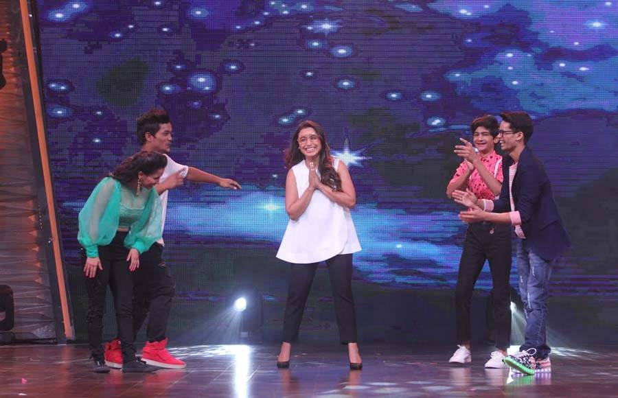 Rani Mukherjee graces Zee TV's DID Li'l Masters 4