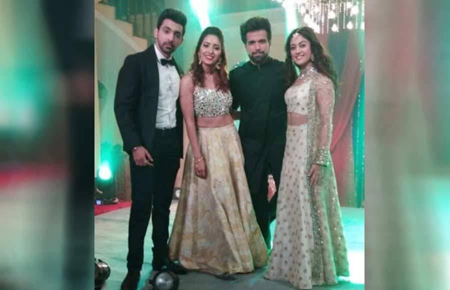 Asha & Rithvik reunites for Zee TV's Kaleerein