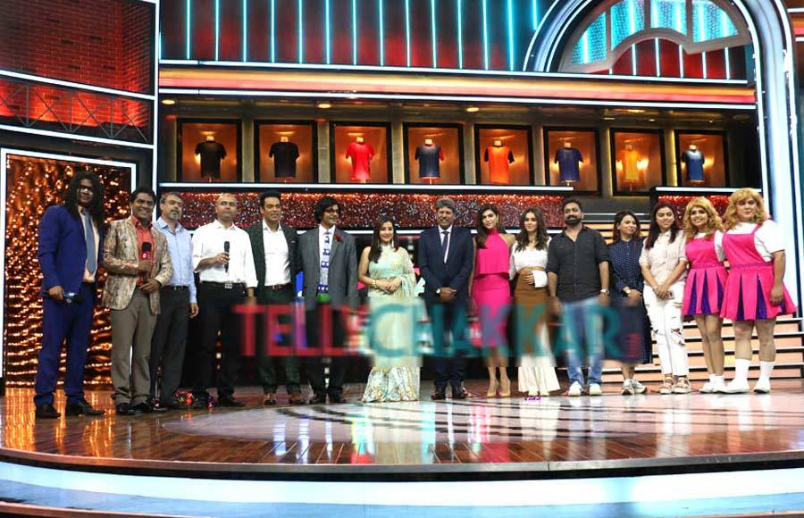 Launch of Cricket Meets Comedy starring Shilpa, Sunil and others