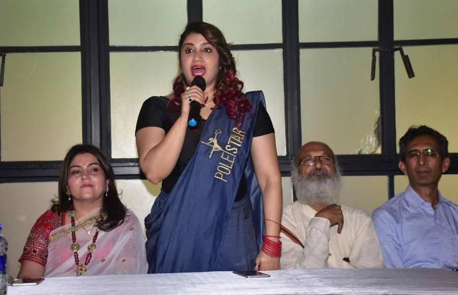 Smilly Suri announces SHAKTI Pole Camp