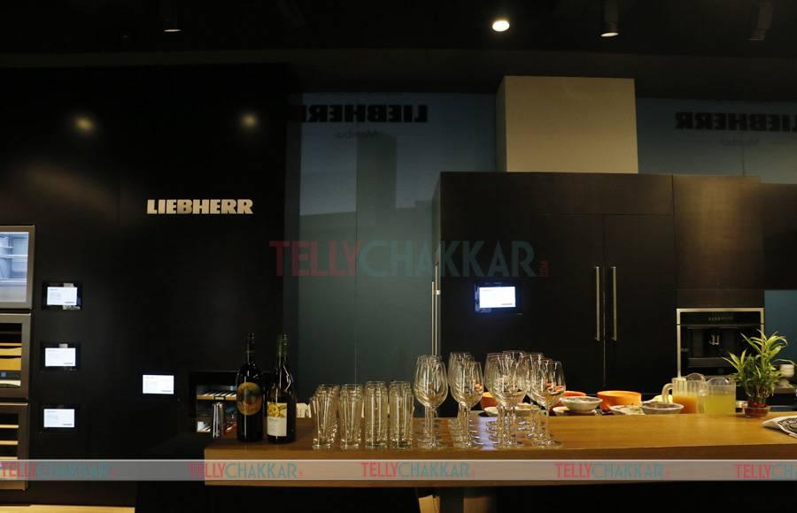 Celebs grace TellyChakkar's event at Liebherr's experience centre