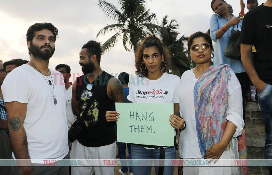 Celebs protest against Asifa gang rape and murder