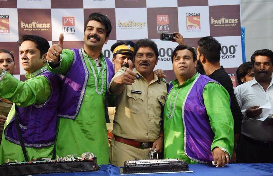 In pics: SAB TV's Partners complete 100 episodes