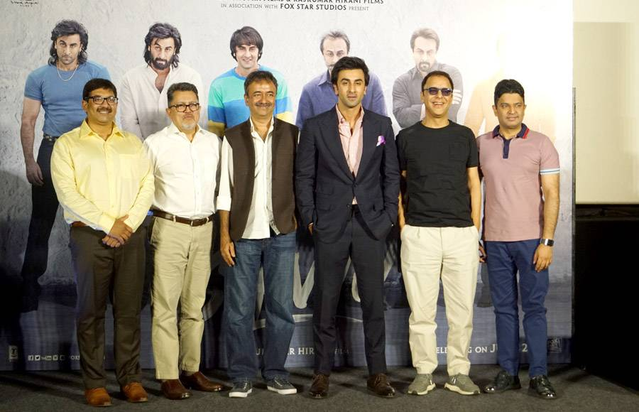 In pics: Trailer launch of Sanju