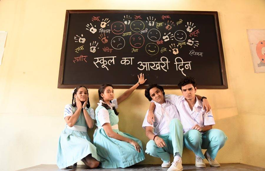 In pics: Yeh Un Dinon Ki actors wrap up school shoot