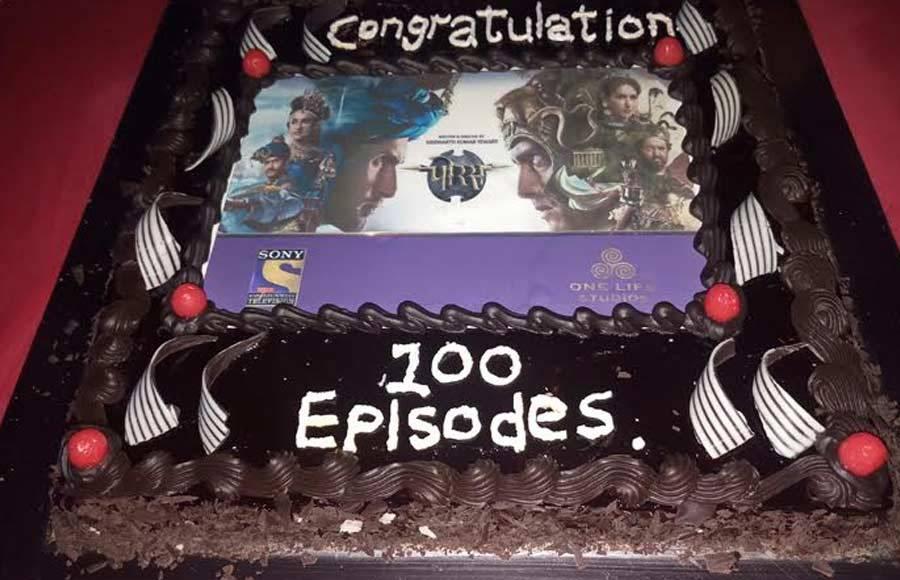 In pics: Porus team celebrates 100 episodes
