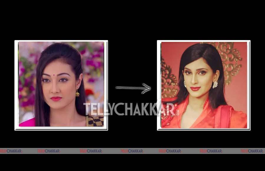 Kratika Sengar replaced Shivani Tomar in Kasam Tere Pyar Ki
